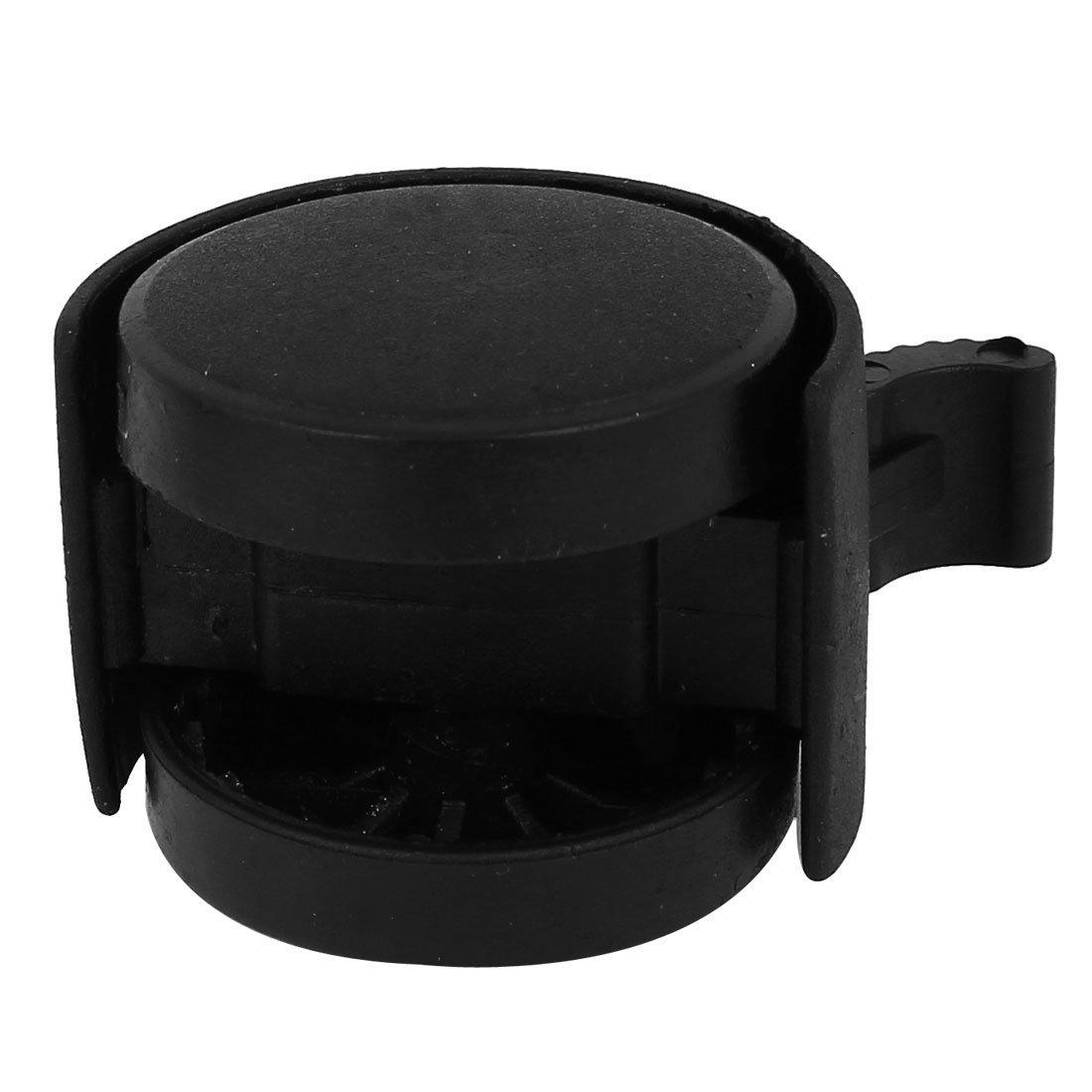 eDealMax Plastic Office Home Chair Swivel Caster 8mm Screw Stem 1.5 Inch Dia Wheel 4 Pcs by eDealMax (Image #2)