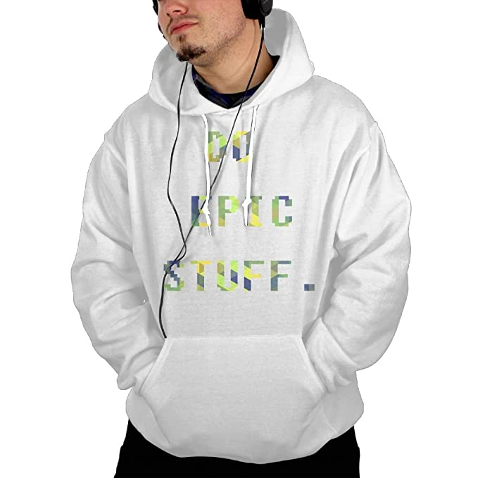 97ea2d3a Fvd9 Hoodies Do Epic Stuff Geometric Men's Pocket Hoodie Pullover ...