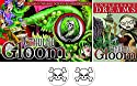 Cthulhu Gloom & Unpleasant Dreams Expansion Bundle Plus 2 Skull Buttonsの商品画像