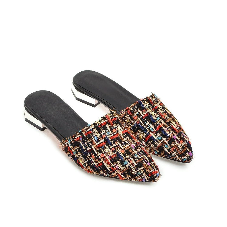 Caliente de la venta MEI S La Mujer Informal del Talón Plano Flip Flop  Sandalias d836a28a3d58