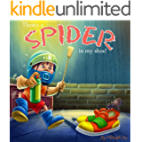 Bedtime Stories : There's a Spider in My Shoe! (Silly Rhyming Story, Books for Kids, Children's Picture Book for Ages 2-100)
