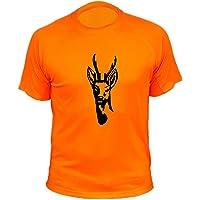 AtooDog Camiseta de Caza, Corzo, Regalos para Cazadores
