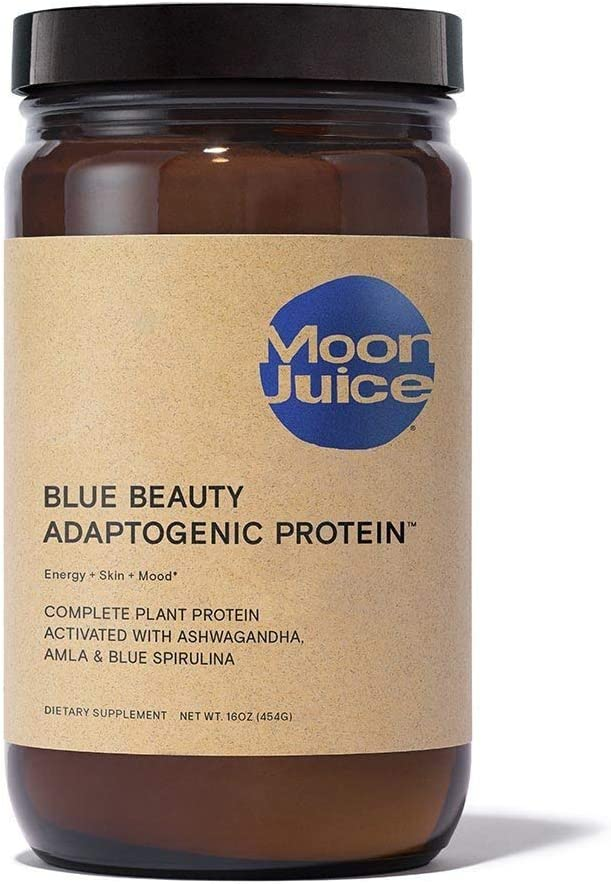 Moon Juice - Blue Beauty Vegan Keto Protein Powder for Energy, Stress and Skin: Health & Personal Care