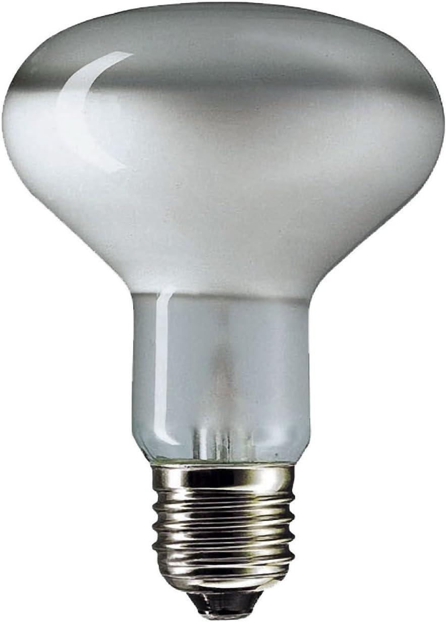 Dimmable Light Bulbs 60W ES R80 E27 Small Edison Screw Reflector Lava lamp Bulb 5X Light Bulbs
