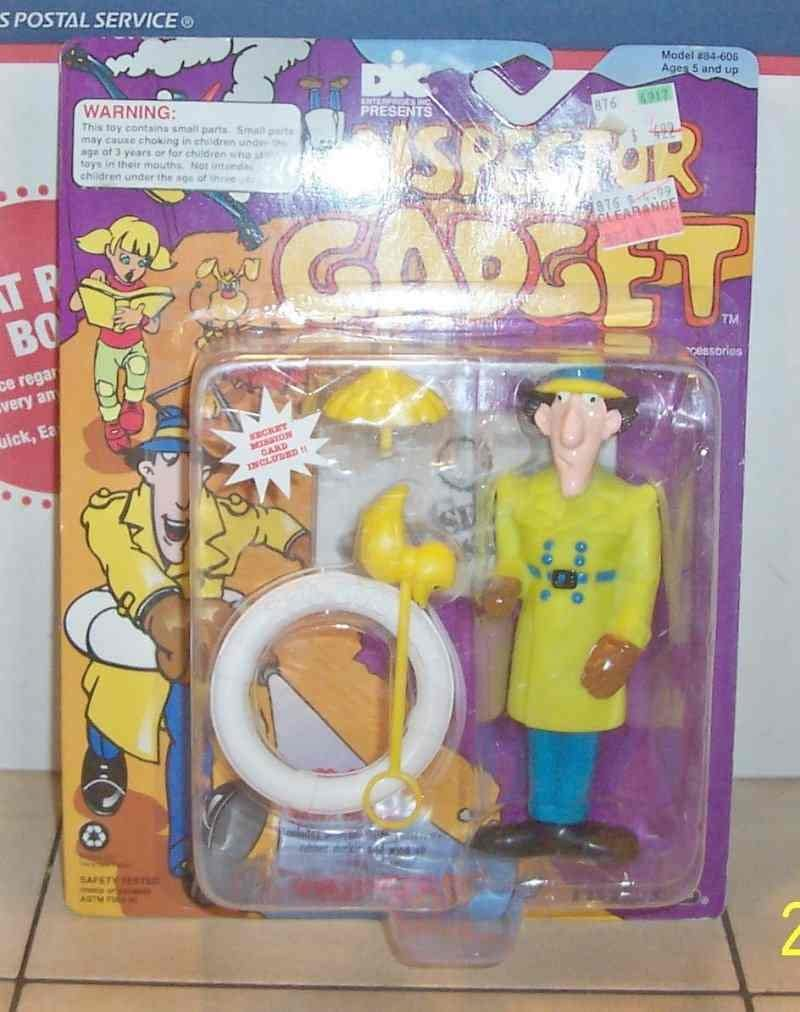 Inspector Gadget 1992 DIC Tiger Toys Water Squirting Action Figure ...
