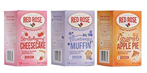 Red Rose Sweet Temptations Herbal Tea 3 Pack Gift Set