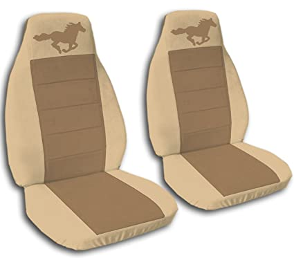 Fine Amazon Com 2005 2006 2007 Ford Mustang Seat Covers Tan And Beatyapartments Chair Design Images Beatyapartmentscom