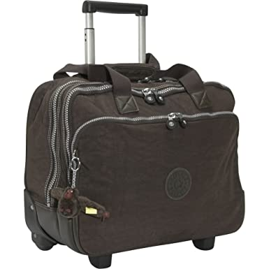 6793089ab8d Kipling Ceroc Wheeled Work Bag with Laptop Protection WL3763 Color:  Espresso: Amazon.co.uk: Clothing