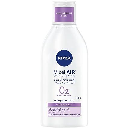 Nivea Eau Micellaire 0% pieles sensibles 400 ml