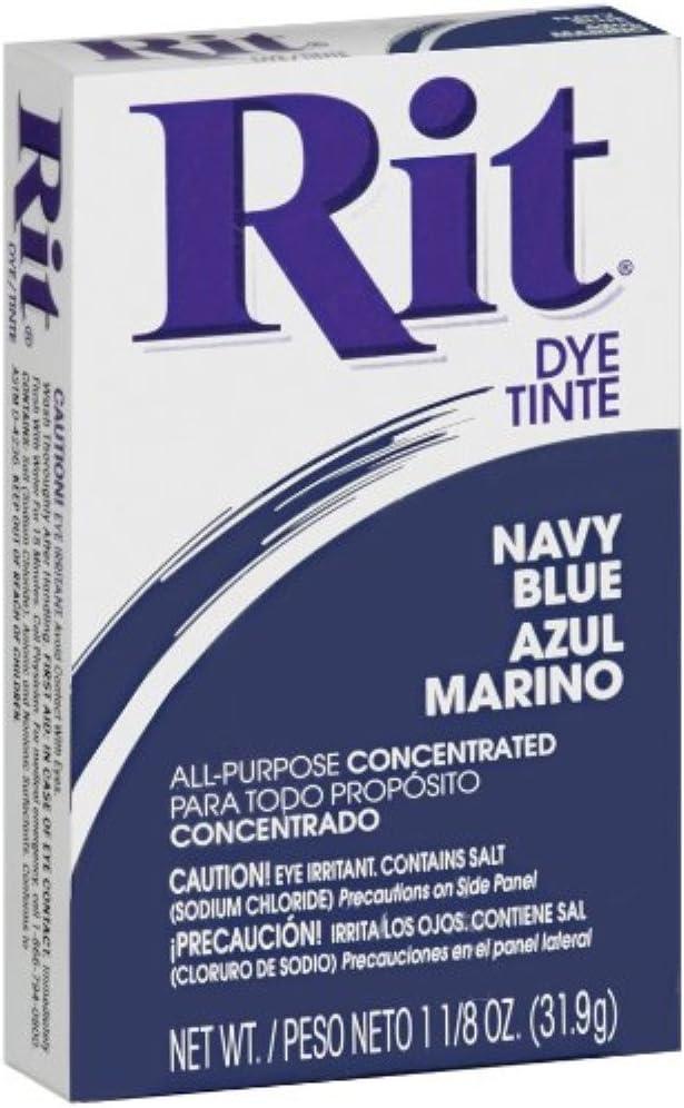 Rit 30 1 Oz Navy Rit Powder Dye