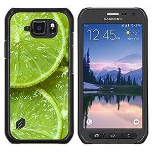 Stuss Case / Funda Carcasa protectora - Verde Agrios Naturaleza Vibrante - Samsung Galaxy S6Active Active G890A