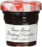 Bonne Maman Strawberry Preserve Mini Jars - 1 oz x 15 pcs Kosher