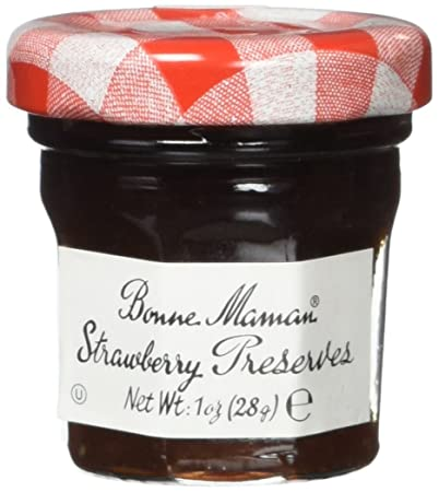 Amazoncom Bonne Maman Strawberry Preserve Mini Jars 15 Pcs X 1