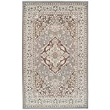 Superior Elegant Glendale Collection Area Rug, Grey, 8' x 10'