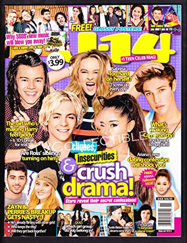 Magazine J-14~ October 2015~One Direction~Cameron Dallas~Selena Gomez~Ross Lynch