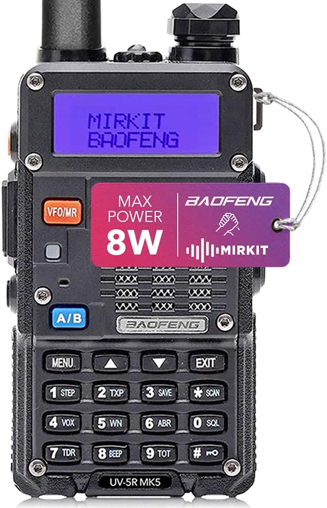 Mirkit Radio UV-5R MK5 MP Max Power 2020 1800 mAh Li-Ion Battery Pack