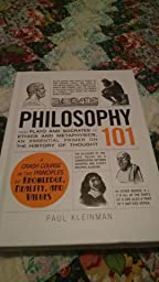 Philosophy 101 assignment with the