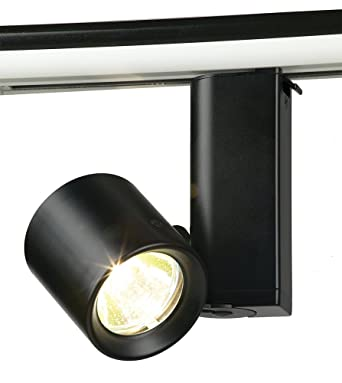 black track lighting. miniforms mr16 bi pin cylinder track light finish black lighting t