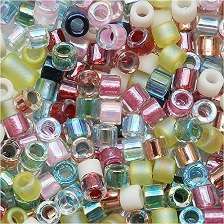 50 Gm, 250 Gm DBL162-80 Opaque Red AB Miyuki Delica Beads