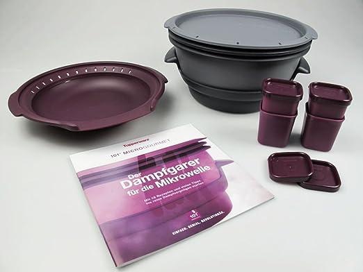 Tupperware Microondas Micro Gourmet gris, Vapor, moldes Lila ...