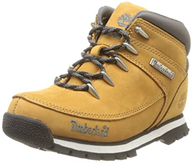 ee92167b91e Amazon.com | Timberland Euro Sprint Boys/Juniors Leather Boots | Boots