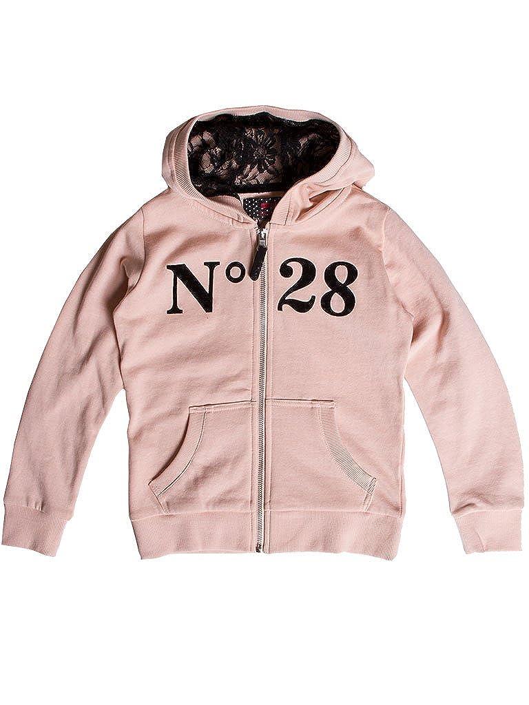 106 - Rose 13-14 ans (hauteur  164 cm) voiturerera Jeans - Sweat-Shirt 854 pour Fille, Style imprimé, Taille Normale, Manche Longue