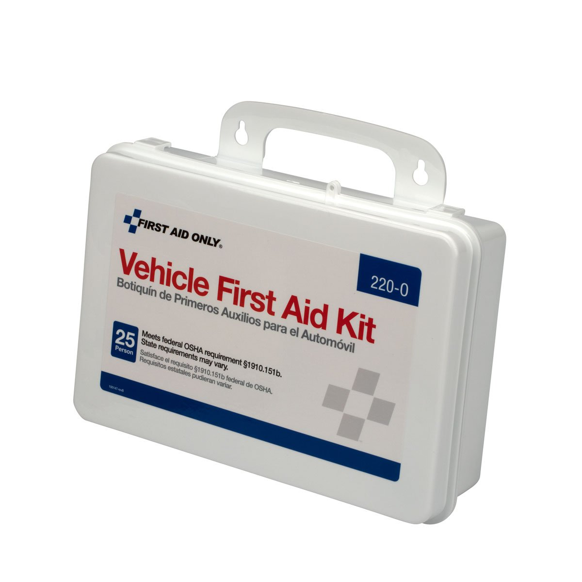 Pac-Kit by First Aid Only Vehicle Bulk First Aid Kit, 94-Piece Kit