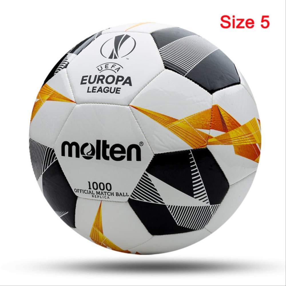 zuq F5U1000-G9 - Balón de fútbol (tamaño 4, Talla 5): Amazon.es ...
