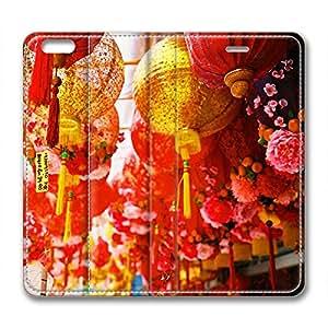 Fantasy Customized Design Iphone 6 Leather Case Beautiful Lantern wangjiang maoyi