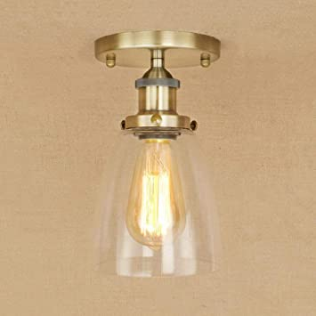 Amazon.com: Ganeep LED Ceiling Lights Vintage Nordic Ceiling ...