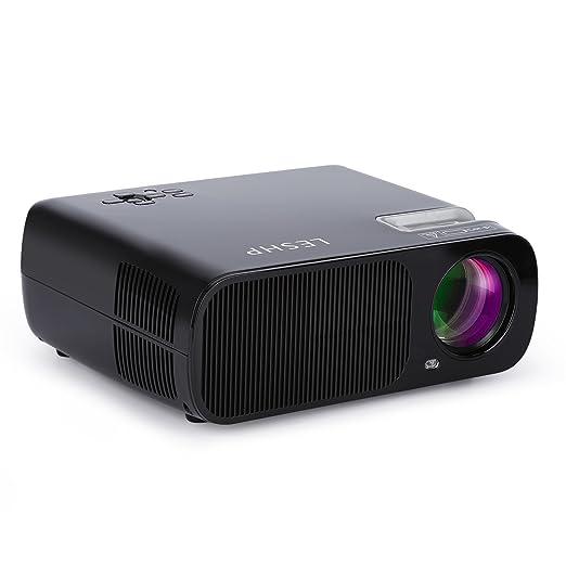 49 opinioni per Mini Proiettore LESHP LED Proiettore Video Multimedia Home Theater con