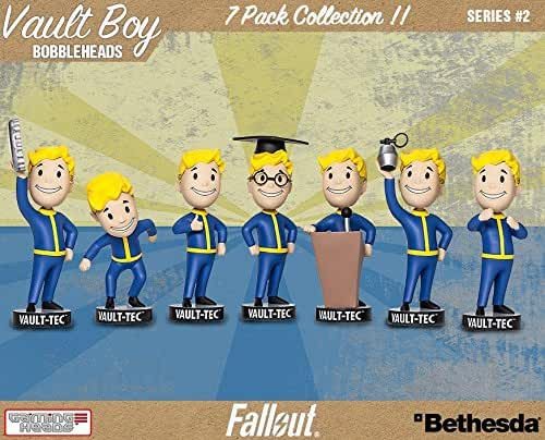 Fallout 4 Vault Boy Bobblehead Series 2 7-Pack Set