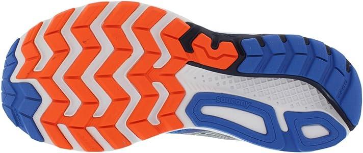 Saucony Ride 9, Zapatillas de Running para Hombre, Azul (Grey/Blue/Orange), 42.5 EU: Amazon.es: Zapatos y complementos