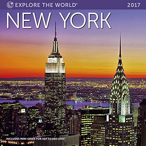 New York Wall Calendar 2017