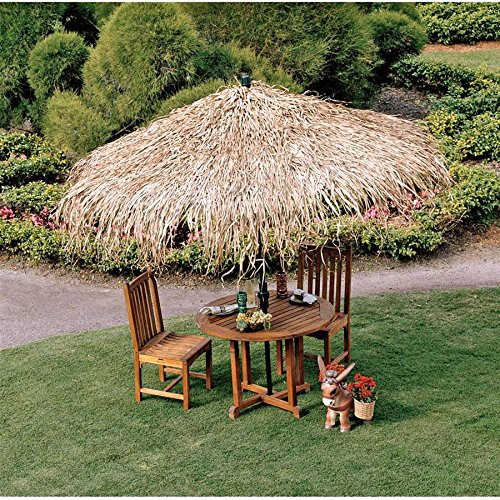 - Design Toscano Tropical Thatch Umbrella Cover