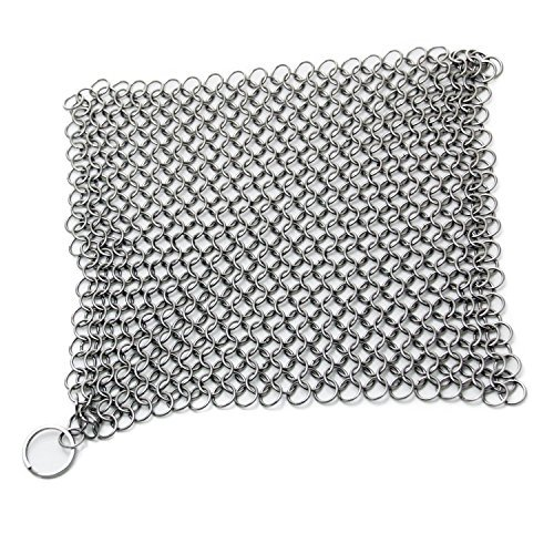 Amagabeli-8x-8-Stainless-Steel-316L-Cast-Iron-Cleaner-Chainmail-Scrubber-for-Cast-Iron-Pan-Pre-Seasoned-Pan-Dutch-Ovens-Waffle-Iron-Pans-Scraper-Cast-Iron-Grill-Scraper-Skillet-Scraper