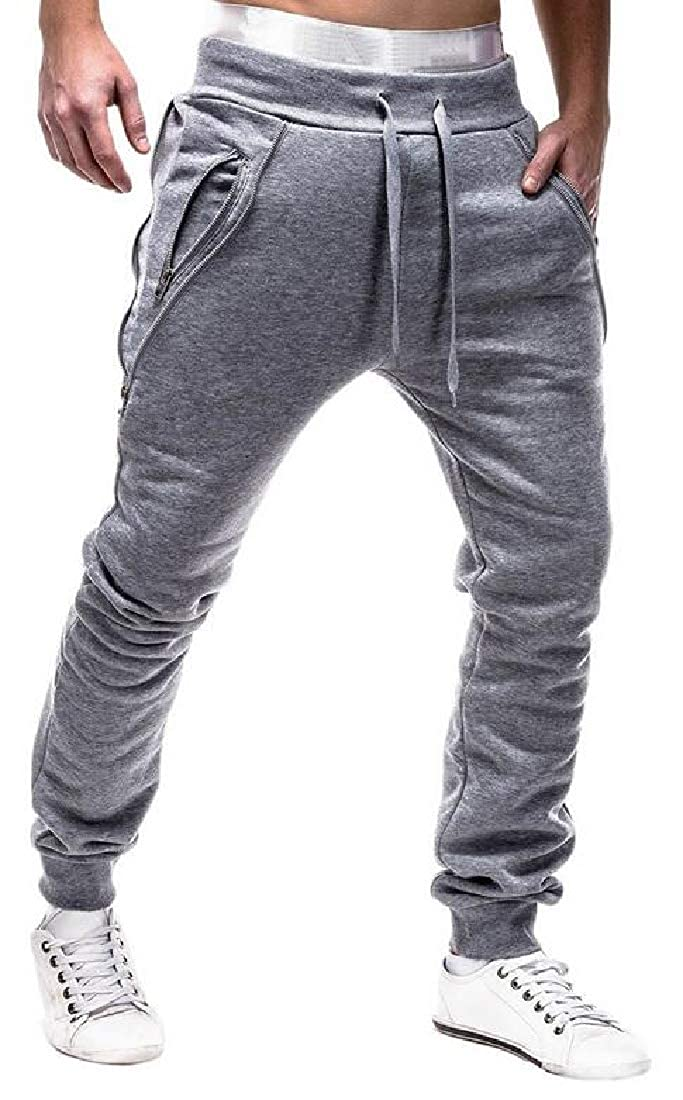 WSPLYSPJY Mens Elastic Waist Casual Lounge Pajama Jogger Yoga Pants