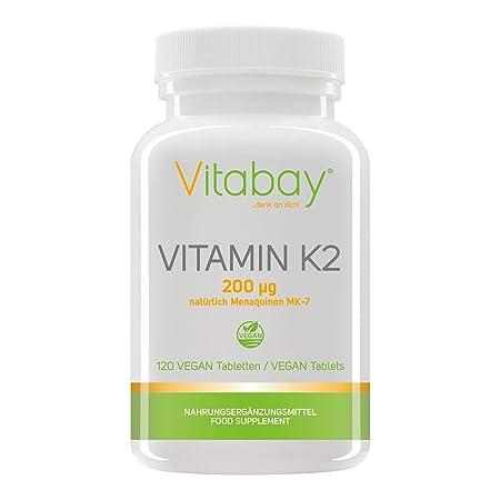 Vitamin K2 200 µg (120 vegane Tabletten)