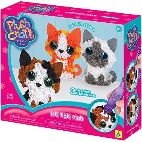 The Orb Factory Plushcraft Kitten Club 3D Soft Craft ()