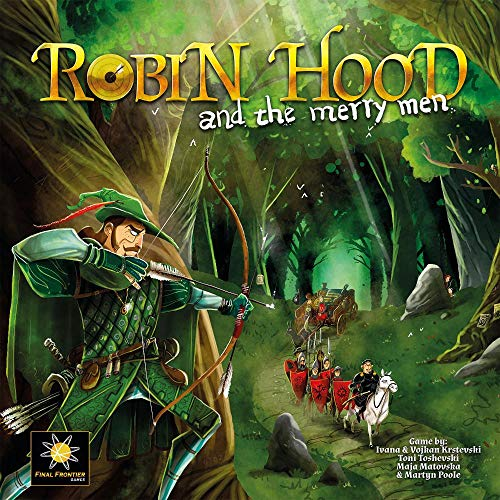 (FINAL FRONTIER GAMES Robin Hood & The Merry Men Board)