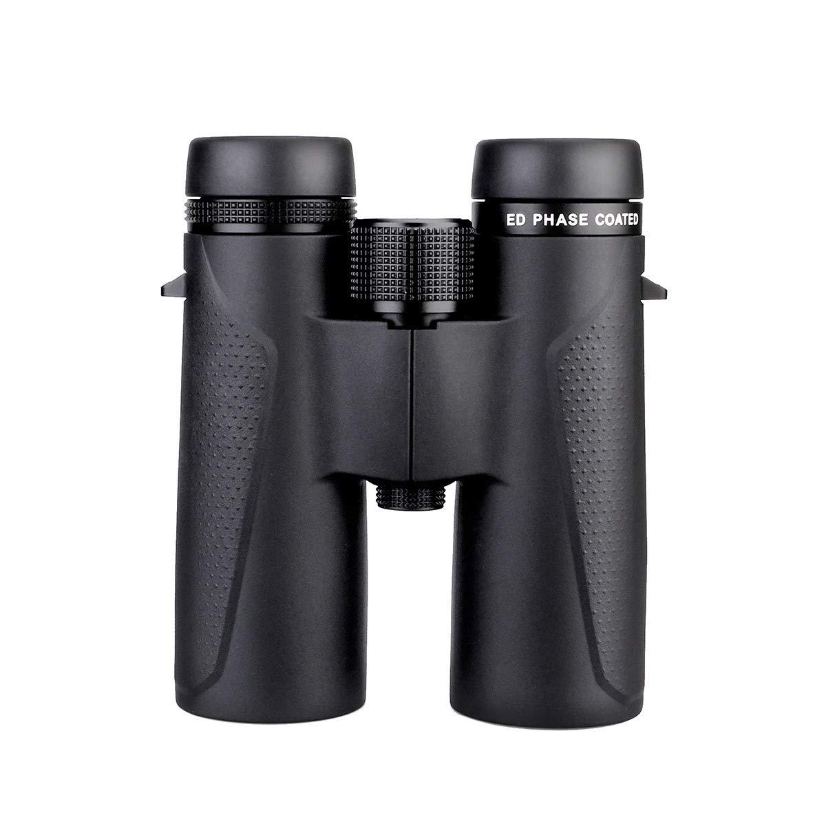 Svbony SV202 Prismaticos Profesionales 10x42 Vidrio ED Visi/ón Ultra Clara Binoculars Impermeable Anti-Diente Prismaticos FMC BAK-4 Prism para la observaci/ón de Aves Caza