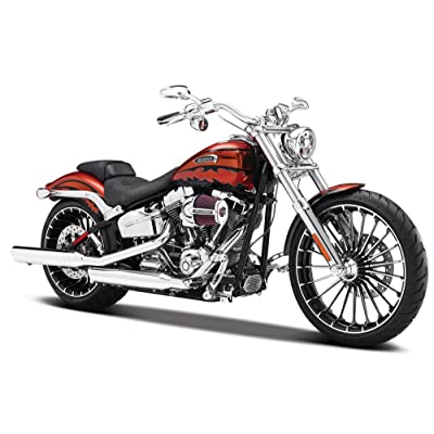 2014 Harley Davidson CVO Breakout Motorcycle Model 1/12 by Maisto 32327: Toys & Games