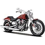 2014 Harley Davidson CVO Breakout [Maisto 32327], Red, 1:12 Die Cast