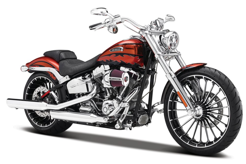 2014 Harley Davidson CVO Breakout Motorcycle Model 1/12 by Maisto 32327 by Maisto