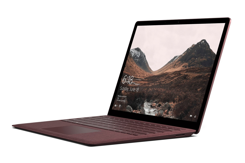 マイクロソフト Surface Laptop [サーフェス ラップトップ ノートパソコン] OfficeH&B付 13.5 インチ PixelSense ディスプレイ Core i7/8GB/256GB バーガンディ DAJ-00086 B079QZ37PL