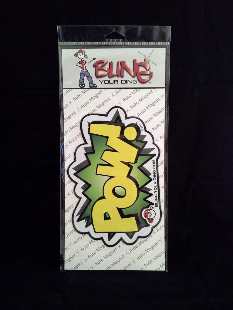- Pow Bling Your Ding Inc Magnet
