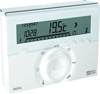 Delta Dore DEL6050410 - Termostato para calentador de agua (1 zona)