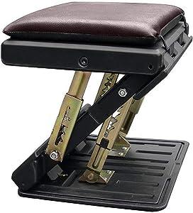 Adjustable Footrest, Upgrade Ergonomic Footrest Max-Load 180LBS with 4 Functional Modes & Massage Footrest Under Desk for Home, Office, Car, Train