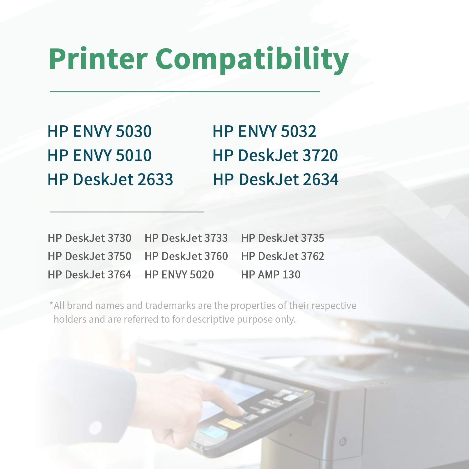 ZIPRINT Compatible HP 304XL HP 304 XL Cartucho 2 Multipack para HP ...