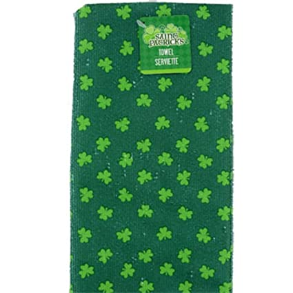 Amazon Com Saint Patrick S Day Green Shamrock Clover Bathroom